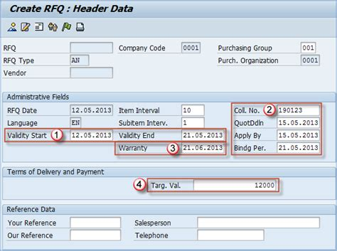 sap quotation layout me41 how to create rfq request for quotation in sap