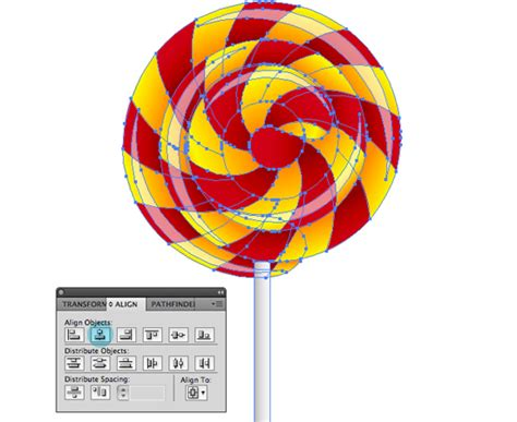vector lollipop tutorial create a swirly lollipop using the spiral tool