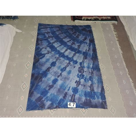 one color spiral tie dye dhurry of rajsthan