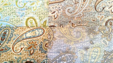Vintage Paisley Quilt by Vintage Paisley Blue Cotton Quilt Set