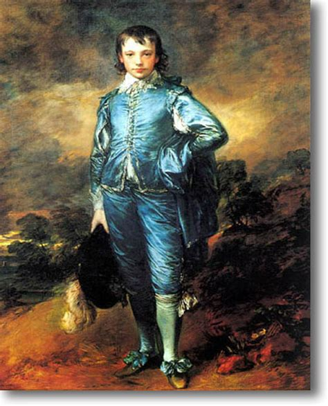 blue boy painting gainsborough blue boy canvas giclee sle