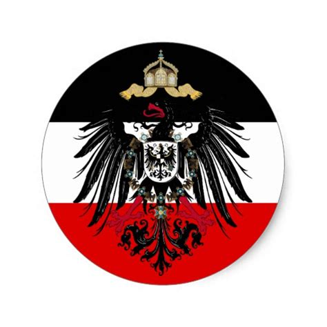 the of heraldry an encyclopedia of armory classic reprint books coat of arms of german empire classic sticker zazzle