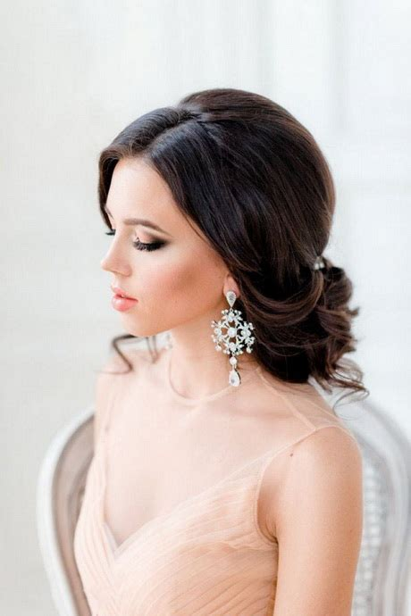 side style hairstyles for weddings