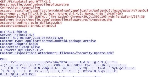 security update apk malware traffic analysis net 2014 03 06 malicious android app