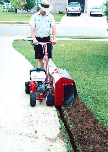 brown bed edger 217 best images about outdoor power equipment review on pinterest
