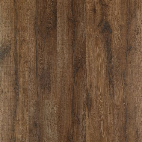 Oak Laminate Flooring Shop Pergo Max Premier 7 48 In W X 4 52 Ft L Bainbridge Oak Embossed Wood Plank Laminate