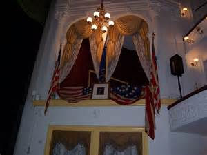 Ford Theater Lincoln File Lincoln S Booth At Ford S Theater Jpg Wikimedia Commons