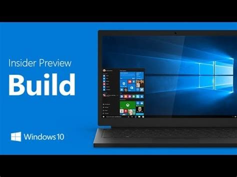 install windows 10 insider preview installing windows 10 insider preview build 16241 youtube