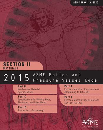 Asme Bpvc Set Section 2 Customary 2015 Asme Bpvc Set