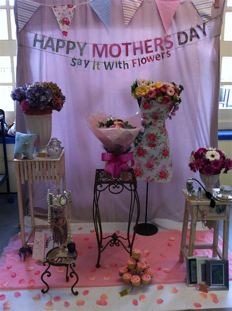s day flower shop flower shop window display mothers day created by