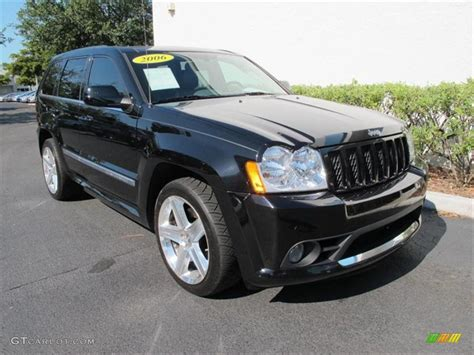 2006 Jeep Srt8 Specs Black 2006 Jeep Grand Srt8 Exterior Photo