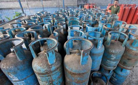 Isi Tabung Gas 12 Kg Lapor Pak Presiden Harga Lpg Di Natuna Rp 230 Ribu Per 12
