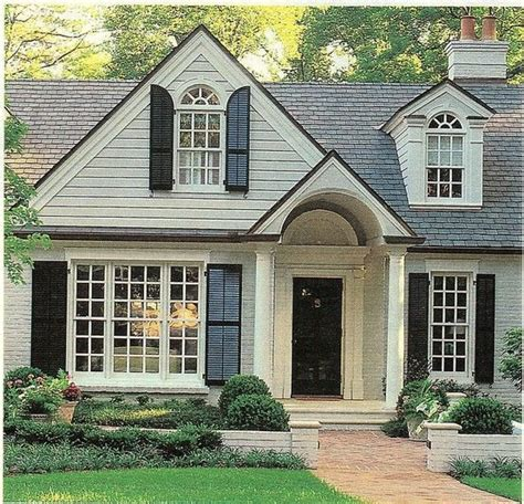 exterior curb appeal exterior colors window and house on