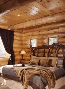 Log Cabin Bedroom Decorating Ideas Cabin Log Bedrooms Panda S House