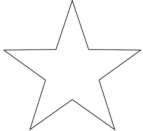 large star template cliparts co