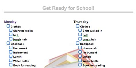 how to get ready for a inspire to get ready for school early with a