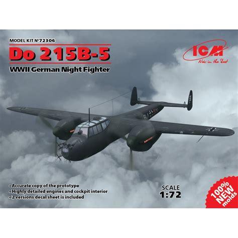 night fighter dornier do 215 b 5 r4 sn of njg 2 in flight 1942 world war photos icm 72306 1 72 do 215b 5 wwii german night fighter