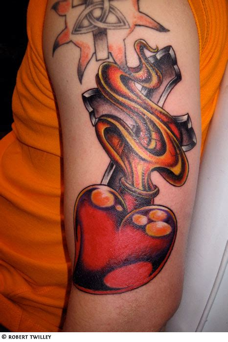 tribal broken heart tattoos gallery sacred broken celtic