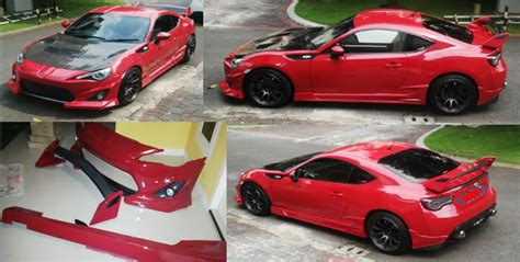 Lu Depan Toyota Ft86 auto bodykit mobil kalimantan konsep modifikasi toyota ft86