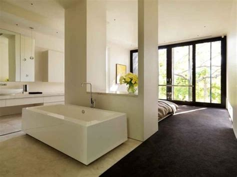 Bedroom And Bathroom In One Room by 30 All In One Bedroom And Bathroom Design Ideas For Space