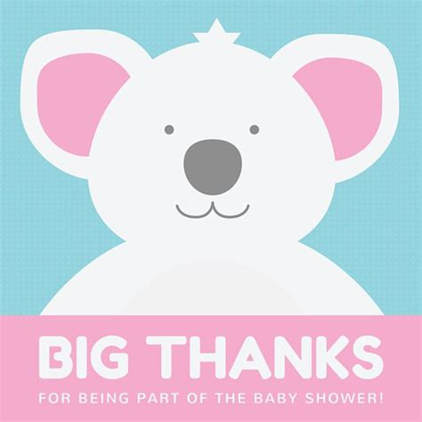Thank You Tags For Baby Shower by 14 Printable Thank You Gift Tags Baby