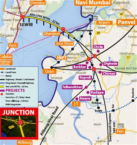 jnpt layout plan infratech sealink all locations connectivity