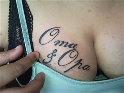oma opa tattoo by petercliff on deviantart