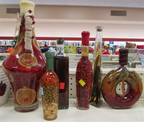 decorative oil bottles with peppers national thrift store throw these things out week april