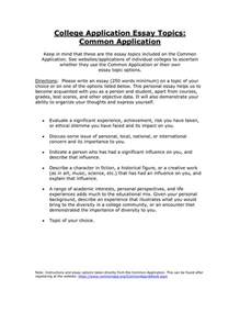 common application essay sample college application essay question examples jianbochen com common app essay tips