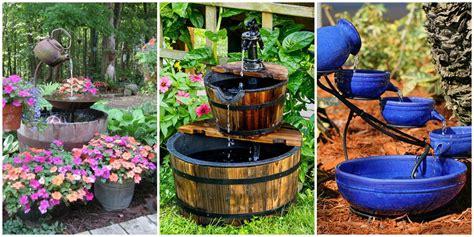18 Outdoor Fountain Ideas   How To Make a Garden Fountain