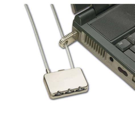 Dijamin Notebook Lock With Number Combination notebook security cable combination lock from lindy uk
