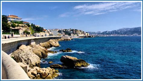 la corniche marseille la corniche photo et image europe