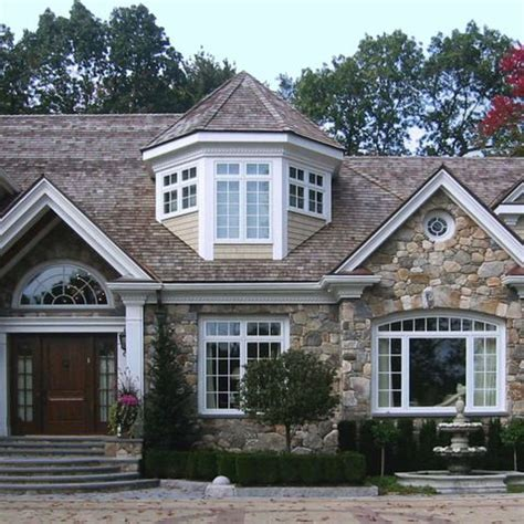 Bay Window Dormer bay window dormer home exterior facade