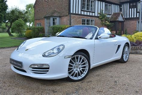 white porsche boxster convertible used white porsche boxster for sale kent