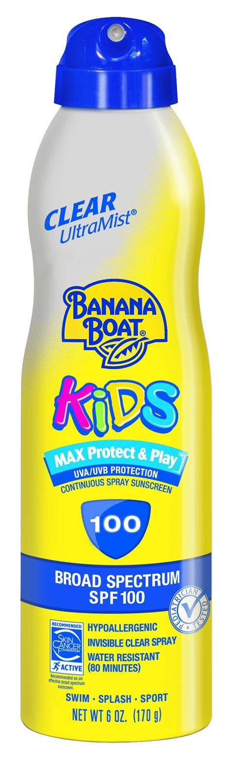 banana boat sunscreen matte banana boat kids tear free spf 100 lotion 120
