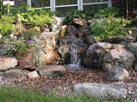 backyard pondless waterfalls sweet garden escapes woodland waterfall and stream