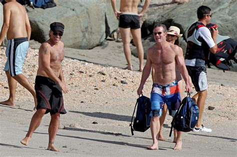 Shirtless Jon Bon Jovi Still At 45 by Jon Bon Jovi Goes Shirtless As He Enjoys A Day On The