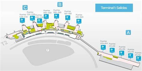 madrid barajas salidas informaci 243 n terminal 1 aeropuerto adolfo su 225 rez madrid