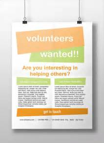 8 volunteer flyer printable psd ai vector eps format