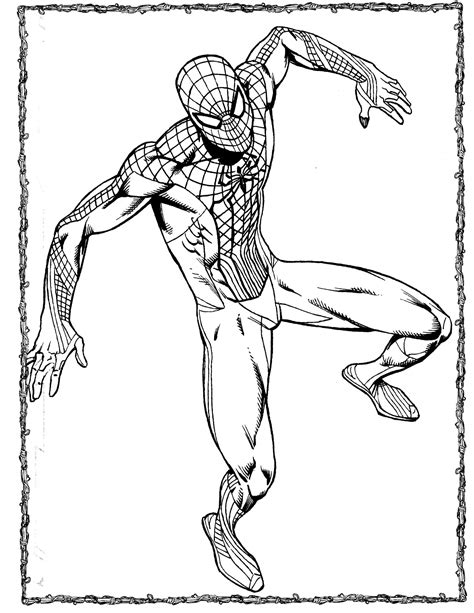 spider man 2 coloring pictures amazing spiderman