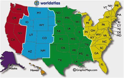 us time zone map arizona les dates courantes et les temps dans la carte des 201 tats
