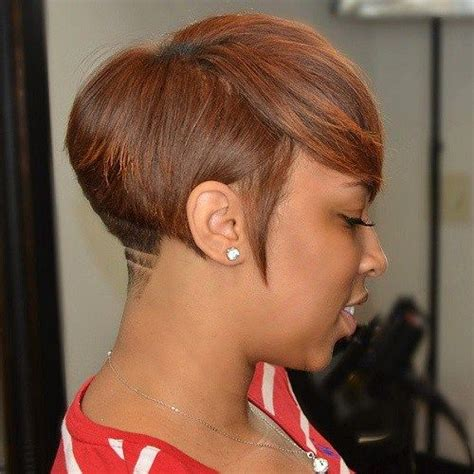 picture of womand hair tapered in back 17 best ideas about short black hairstyles on pinterest