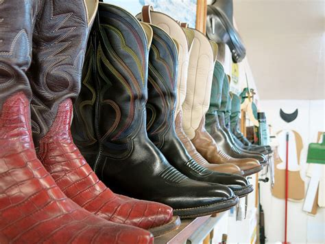 Crafting Handmade Shoes - crafting handmade cowboy boots the way in northern