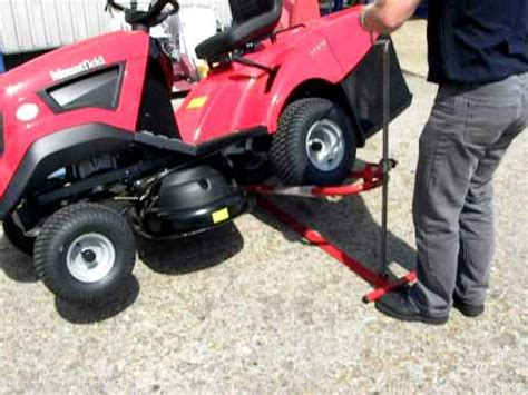 garden tractor lift table lawn mower lift ftempo