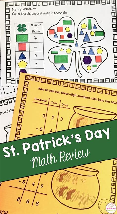 place value right left center game st patrick s day 3146 best st patrick s day math ideas images on pinterest