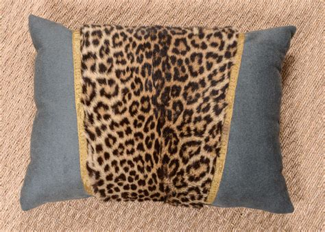 Leopard Pillow by Leopard Pillow At 1stdibs