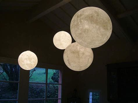 the moon as inspiration for light fixtures commercial