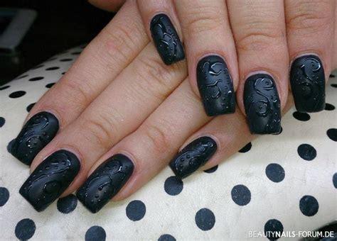 matt schwarz nagellack 100 schwarze nageldesign bilder ideen 2018