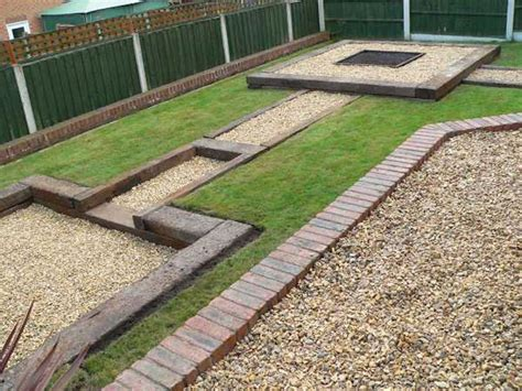 Railway Sleepers Garden Ideas Used Railway Sleepers Patio
