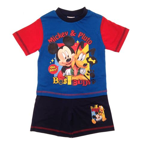 fleece all in one pyjamas for toddlers toddlers pyjamas baby boy disney mickey mouse pjs set